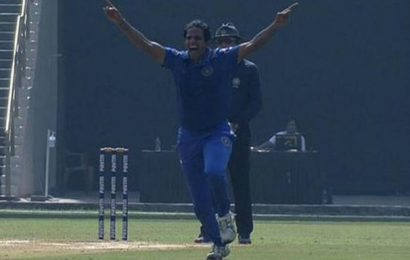 Syed Mushtaq Ali Trophy   Pondicherry on a roll