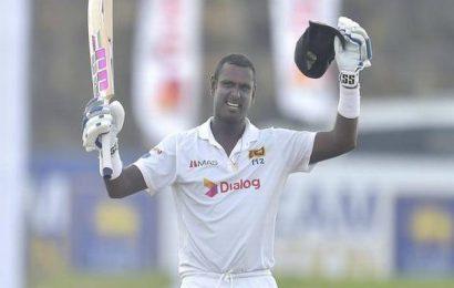 England in Sri Lanka   Mathews' century drives Sri Lanka