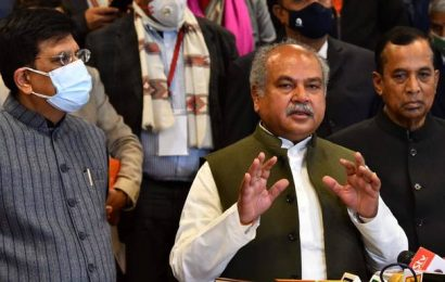 Govt's offer best for farmers; hopeful that unions will reconsider it: Narendra Singh Tomar