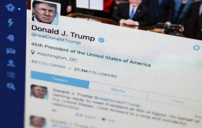 Twitter suspends Trump from tweeting for 12 hours over violations