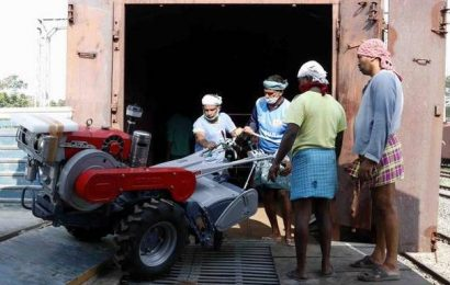 Kerala's tillers all the way to Northeast, by rail