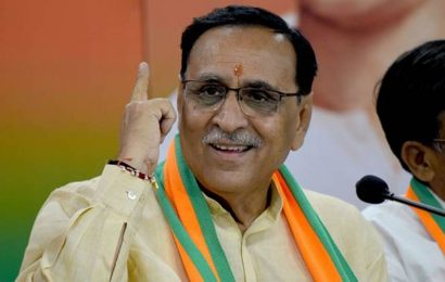 Land grabbers can leave their activities or leave Gujarat: CM