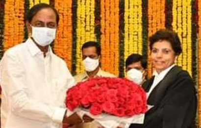 Justice Hima Kohli takes charge as 1st woman CJ of Telangana high court