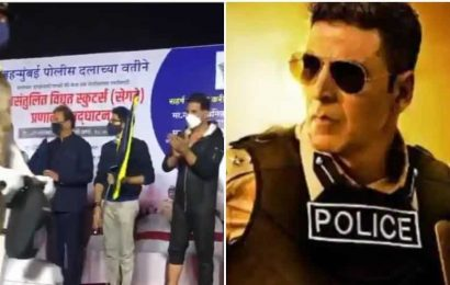 Akshay Kumar takes part in Mumbai Police function, says 'happy to see the modernization of our police force', watch