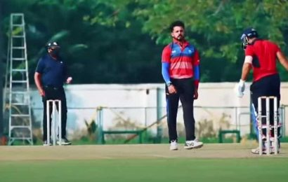Sreesanth returns with aggression and animated celebrations, sledges batsman in warm-up game – WATCH