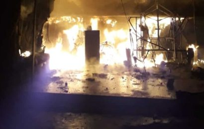 Massive fire breaks out at Harley Davidson showroom in Delhi