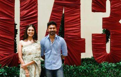 Shoot of Dhanush's next film with Karthick Naren begins, see pics