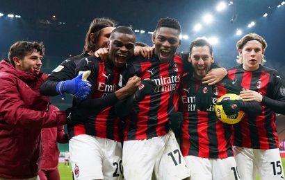 Italian Cup: AC Milan beats Torino on penalties to reach quarterfinals