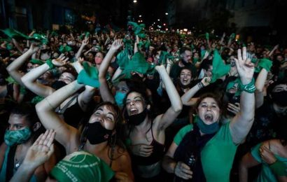 'Down with patriarchy, long live feminism': How demonstrations led to Argentina legalising abortion