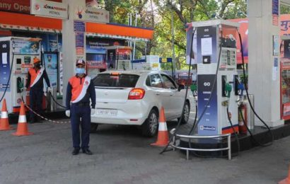 Fuel rates touch all-time high in Chandigarh