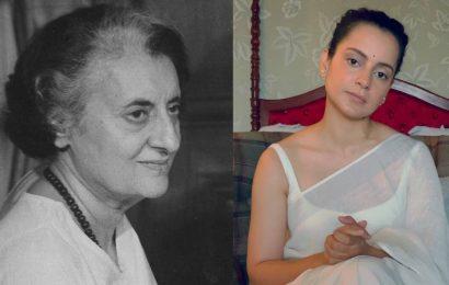 Kangana Ranaut all set to play Indira Gandhi