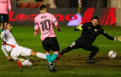 Lionel Messi leads Barcelona to Copa del Rey comeback win over Rayo Vallecano