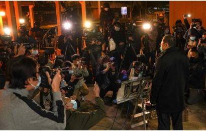 U.S., Canada, Britain, Australia condemn Hong Kong arrests of activists