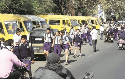 Gujarat: Tax exemption announced for buses of educational institutes from April to Dec