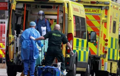 UK in 'eye of the storm' amid surging new Covid-19 cases