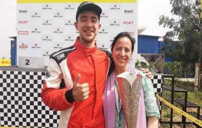 Amir Sayed steals the show, wins four races