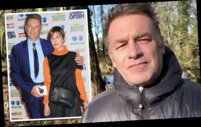 Chris Packham: BBC presenter 'suffering' as meal prep with girlfriend takes unlikely turn