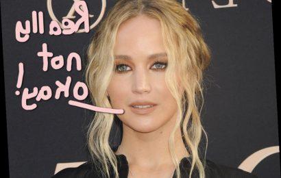 Jennifer Lawrence Injured During Filming In Set Explosion Gone Wrong