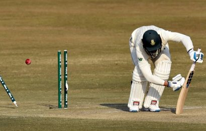 Pakistan fight back after Nortje takes five-for