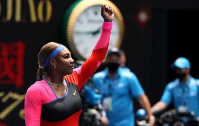 Aus Open PICS: Serena, Osaka romp into second round