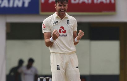 James Anderson is getting better with age…