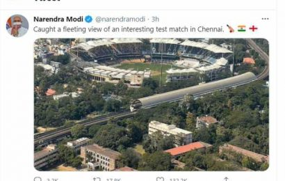 When cricket caught PM Modi's attention!