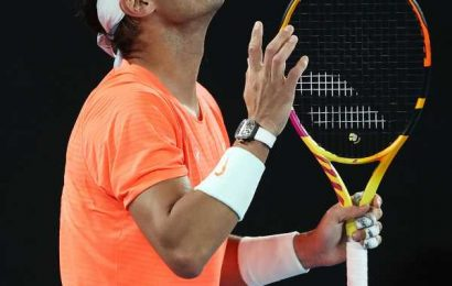 Nadal's grand ambitions thwarted in Australia again