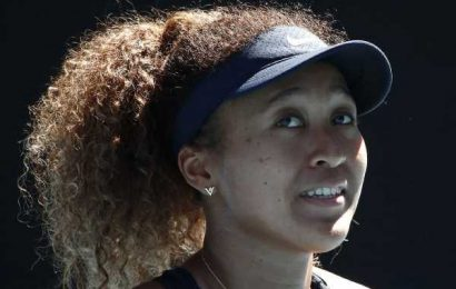 Calmer Osaka looking to be role model on court
