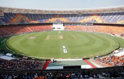 Inside the Narendra Modi Stadium