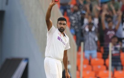 Ashwin fourth Indian to scale 400 Test wickets