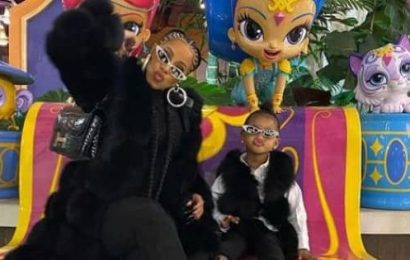 Cardi B's daughter Kulture Kiari Cephus does her makeup and it's the cutest thing on the internet today