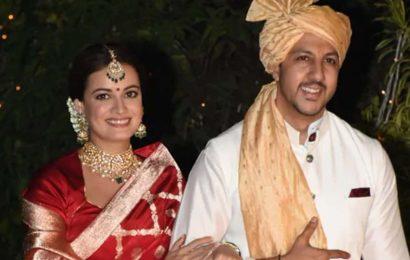 Dia Mirza -Vaibhav Rekhi are now married