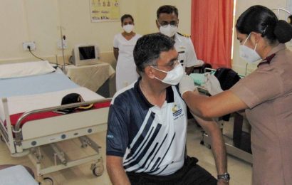 Vaccination for Navy personnel begins at INS Shivaji