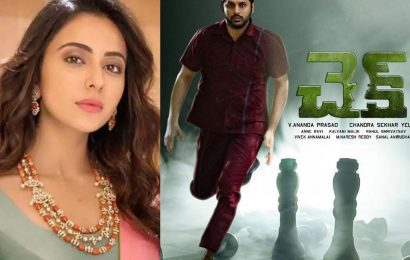 Is Rakul Preet Singh hurt with Check's director