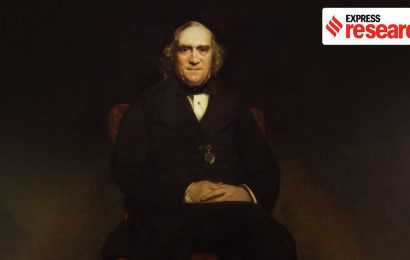 James Wilson, the British economist who presented India's first 'budget'