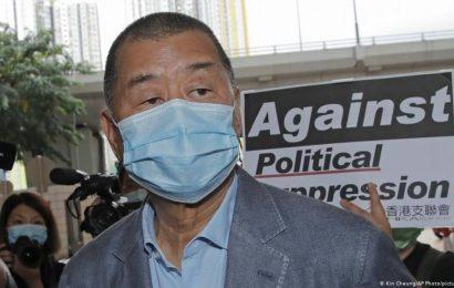 Jimmy Lai: Hong Kong court denies media tycoon bail again