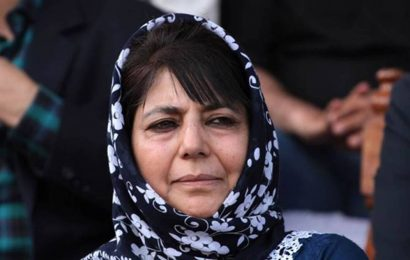 Mufti addresses PDP cadre, calls for peaceful fight to restore J&K rights