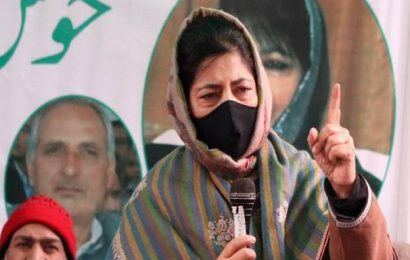 Mehbooba Mufti re-elected PDP president