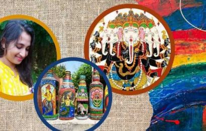 Meet Odisha's Bhagyasri Sahoo who impressed PM Modi with her Pattachitra art