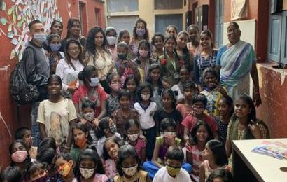 Haircuts and happiness: When a few hairdressers visited Rainbow Home in Bengaluru