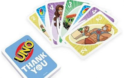 Mattel Toys launched UNO cards to honour frontline workers