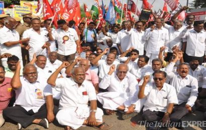 Trade unions call for nationwide protest on Wed against privatisation, other policies in Budget