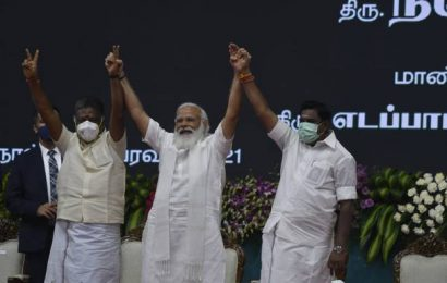 PM Modi unveils key projects in Tamil Nadu