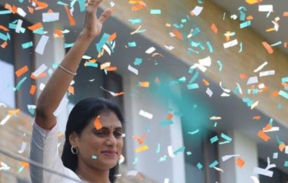 Y.S. Sharmila promises 'Rajanna Rajyam' in Telangana