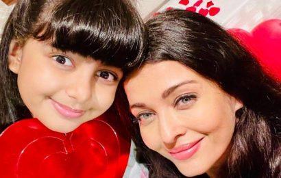 Aishwarya Rai shares perfect Valentine's Day selfie with daughter Aaradhya: 'Love you eternally'