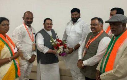 Medchal DCC chief joins BJP