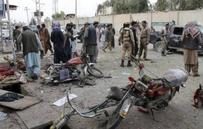Officials: Roadside bombs in Afghanistan kill 3, wound 20