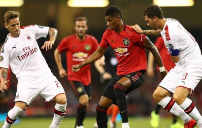 Manchester United set to face AC Milan in last-16 of UEFA Europa League
