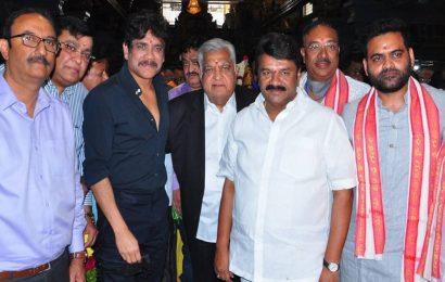 Nagarjuna Akkineni and Praveen Sattaru's film goes on floors