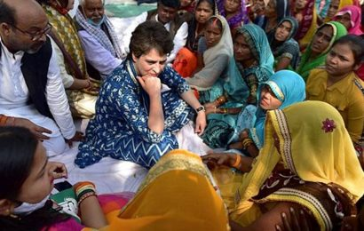 UP: Priyanka meets community members in Prayagraj, assures legal aid to booked Nishads